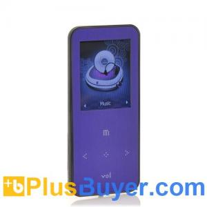 China ONN Q9 - 1.8 Inch LCD MP3 + MP4 Player (4GB, FM Radio, Micro SD Card Slot) on sale