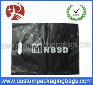 China Disposable Die Cut Plastic Bags Vivid Printing , promotional gift bags on sale