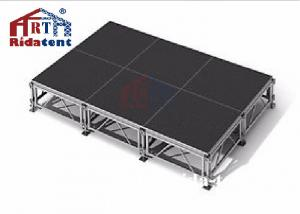 China Smart Mobile Folding Stage , Music Concert Aluminum Portable Stage on sale