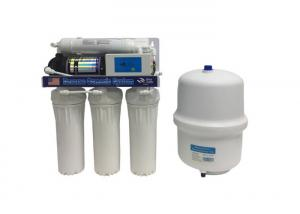 China Household RO System Water Purifier 75 GPD With Microcomputer Light Indicator Box on sale