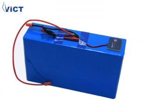 China LiFePO4 Rechargeable Lithium Batteries , 24V 100AH Lithium Ion Battery For Solar System on sale