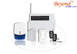 China Easy Handle Auto Dialer GSM LCD Wireless House Security Alarm SystemS on sale
