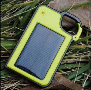 China solar cellphone chargers with hook for hiking and camping on sale