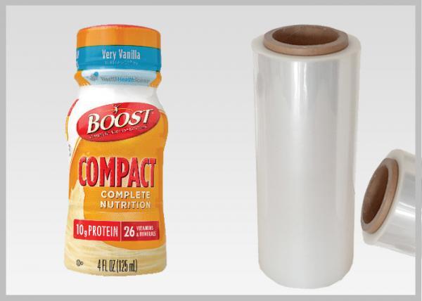 Bottle Labels Poly Shrink Film / PLA Biodegradable Shrink