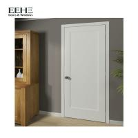 China Contemperary Flush Solid Hardwood Internal Doors With Handle Brand Hardware on sale