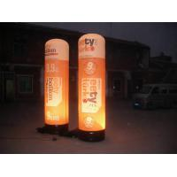 China Advertising Inflatable Lighting Pillar , Led Light Inflatable For Decoratin on sale