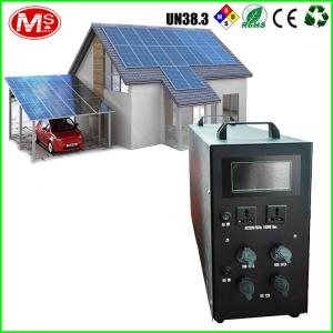 China Li-Polymer All In One Solar Inverter , Solar Power Inverter For Home 500Va To 3000va on sale