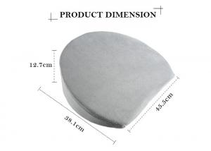China Custom Travel Bed Foam Pregnancy Pillow Wedge Type For Pregnant Women on sale