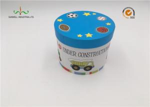 China Toys Packaging Cardboard Cylinder Tubes , Recycleable Small Paper Tubes on sale