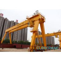China good performance track travelling medium-sized electric hoist gantry crane on sale