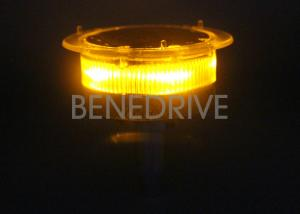 China Bright Solar Warning Sign , Road Work Solar Powered Flashing Beacon STB014 on sale