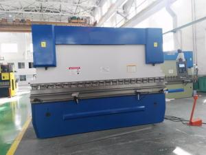 China Stainless Steel Door CNC Press Brake Machine With High Strength Gooseneck Tools on sale