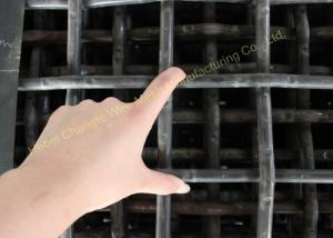 China Sturdy Structure Rock Crusher Screen , High Carbon Steel Heavy Duty Metal Screen on sale