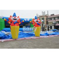 2.6H M Clown Customize Inflatable Advertising Products , Usb Mini Inflatable Air Dancer