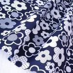 Tecido de algodão poli impresso tecido