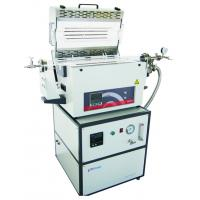 High Purity Silica Tube Laboratory Tube Furnace With Adjustable Flange Support Structure