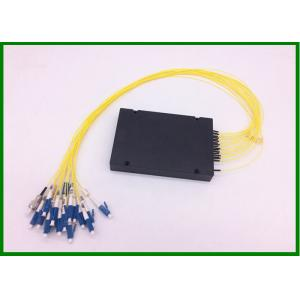 China 18CH CWDM Mux Demux G652A fiber 1270~1610nm Mux 1m length with blue LC/UPC connector on sale