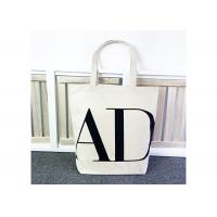 Personalized Shopping Canvas Bag SGS Certification Durable For Promotions