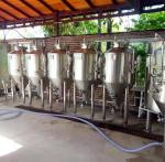 micro beer brewing equipment, fermenters for beer, beer making equipment