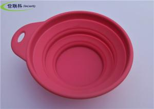 China Food Safe Silicone Tableware Foldingsilicone Dog Bowl For Travel Bpa Free on sale