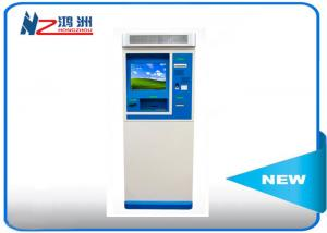 China IP66 interactive touch screen information kiosk with keyboard on sale