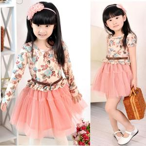 China Free sample ropa de bebe for girls dress girl girl wholesale baby garment on sale