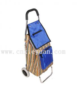 China shopping car bags Trolley Foldable shopping cart luggage cart's small trailer on sale