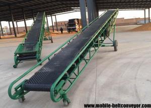 Mobile Portable Grain Loading Container Belt Conveyor For Grain