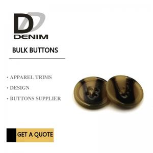 China Custom Novelty Bulk ing Buttons Fashion Fisheye Resin Button Suits Sweater Shirt on sale