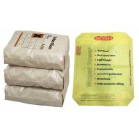 Water Proof 25 Kg Cement Bags PP Woven Valve Bag For 50 Kg Cement