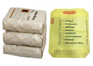 China Recyclable Matt / Gloss PP Woven Sack Bags Valve Or Open Mouth OEM on sale