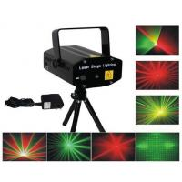 4 patterns red green mini laser light show