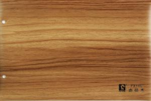 Pvc Lamination Wood Grain Film Flexible