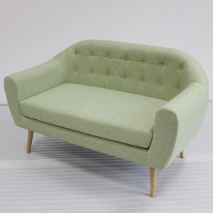 Quality Contemporary Style Upholstered Sofa Chair With  Hardwood Plywood Frame for sale