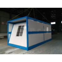 China Folding Sandwich panel Prefabricated container House/fast installation container house. on sale