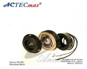 A//C Compressor Clutch Pully 7SEU17C for Mercedes-Benz Models w// 6 GROOVE PULLEY