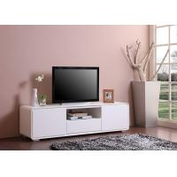 1.6 Meters Length Modern TV Stand White Matt Furnishing with E1 Green MDF Board