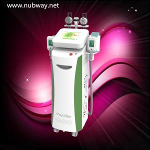 China cryolipolysis+cavitation+vacuum+rf cryolipolysis fat loss equipment on sale