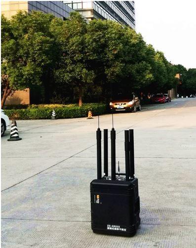 120 Watt Car Remote Control Jammer , 100m High Range Mobile