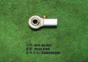 Quality High Precision Stainless Steel Ball Joint Rod Ends 605-20-002 For TDK Accessories for sale