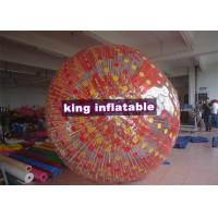 China Cushion Inflatable Zorb Ball / Color D-Ring Inflatable Ball Zorb Rollig With Ramp on sale