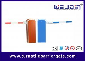 China Blue Bi - directional Car Park Boom Barrier Gate , Entrance Gate Security Systems on sale