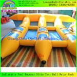 China Custom-Made Inflatable Flying Fish Boat for Water Sports EquipmentFly Water Banana Boats wholesale