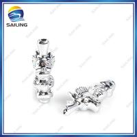 China Silver E cigarette Drip Tip Dragon Shape , Electronic Cigarette Holder on sale