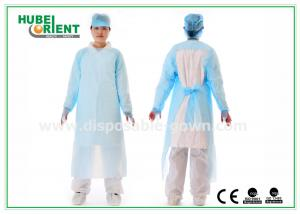 China Lightweight Non Stimulating Protective Disposable CPE Gown on sale