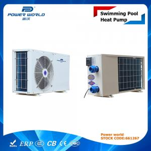China Eco Friendly Heat Pump Swimming Pool Petite Pompe Chaleur Piscine Side Discharge 3.5kw - 30kw on sale