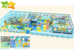 China Anti Static Mall Play Area Equipment  Naughty Castle High Safety UV Resistant supplier