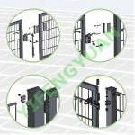 Two-wing Gate mainly used in garden building, transport, breeding and machinery