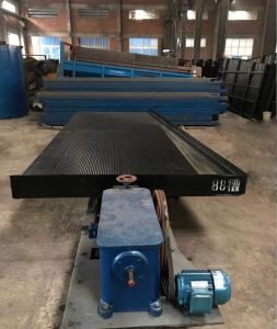 China Mining Concetrating Table Shaking Table 0.8tph Ore Dressing Equipment on sale
