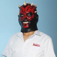 X-MERRY NEW Halloween Darth Maul Costume Mask Kids Boys Star Wars Halloween